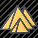 civilization, communities, community, culture, egyptian, nation, pyramid icon