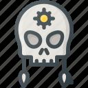civilization, communities, community, culture, nation, skull icon