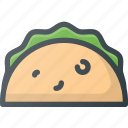 civilization, communities, community, culture, nation, taco icon