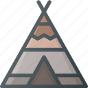 civilization, community, culture, indian, nation, tipi, wigwam icon