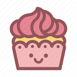 cake, cakes, cupcake, cupcakes, emoji, emojis, face icon