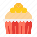 cake, cupcake, dessert, food, muffin, sweets, valentine icon