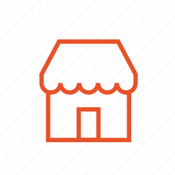 cafe, home, hostel, hotel, house, hut, shop icon