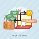 bag, bitcoin exchange, business, concept, currencies, finance, money