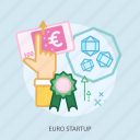 business, click, concept, currencies, euro startup, finance, money