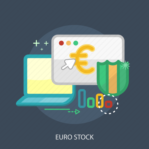 business, concept, currencies, defender, euro stock, finance, money icon