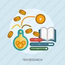 book, business, concept, currencies, finance, money, yen research
