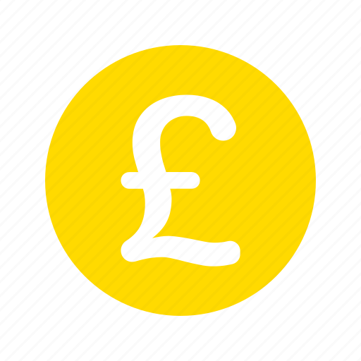 coin, currency, gbp, money, pound sterling icon