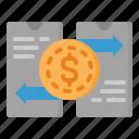 smartphone, exchange, money, mobile, online