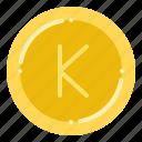burmese, currency, exchange, kyat, money icon