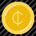 cedi, currency, exchange, ghana, money icon