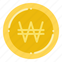 currency, exchange, korean, money, won