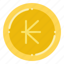 currency, exchange, kip, lao, money icon