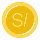 currency, exchange, money, peruvian, sol icon