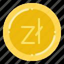 currency, exchange, money, polish, zloty