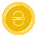 currency, exchange, hryvnia, money, ukrainian icon
