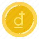 currency, dong, exchange, money, vietnamese icon