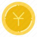 currency, exchange, money, yuan icon
