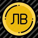 bulgaria, currency, exchange, lev, money icon