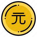 currency, dollar, exchange, money, new, taiwan icon