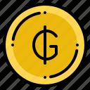 currency, exchange, guarani, money, paraguayan icon