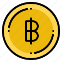 baht, currency, exchange, money, thai