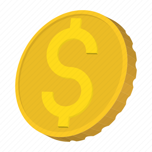 america, cartoon, coin, currency, dollar, finance, gold icon