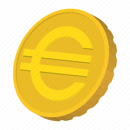 coin, currency, euro, finance, gold, isometric, wealth icon