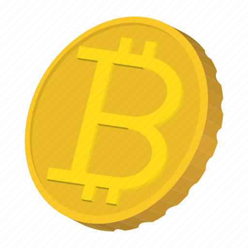 bitcoin, cartoon, coin, currency, finance, gold, wealth icon