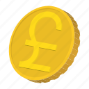 cartoon, coin, currency, finance, gold, japan, yen icon