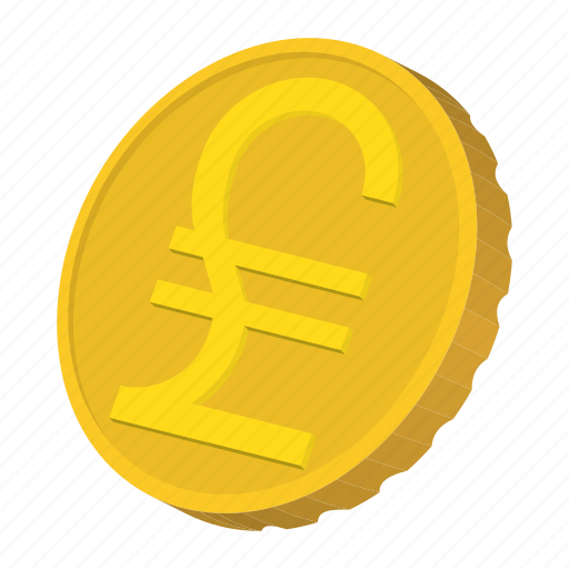 cartoon, coin, currency, finance, gold, italy, lira icon