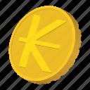 coin, currency, gold, kip, laos, mongolia, tugrik