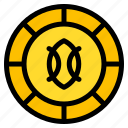 shilling, coin, currency, money, cash icon