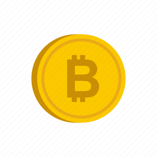 bitcoin, coin, currency, finance, gold, metal, money icon