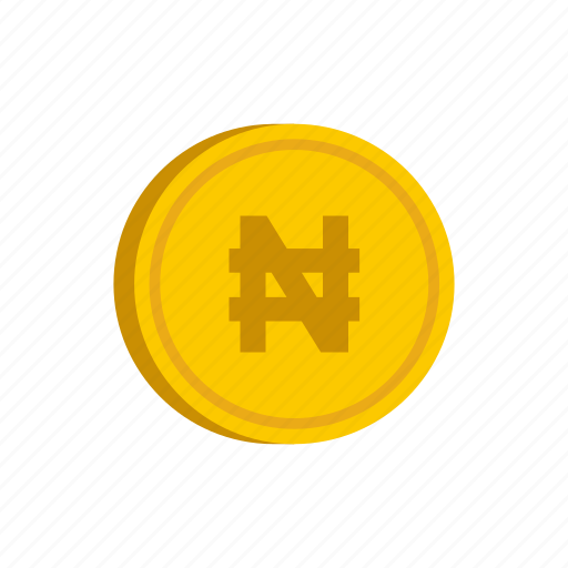 coin, currency, gold, metal, money, nairas, nigeria icon
