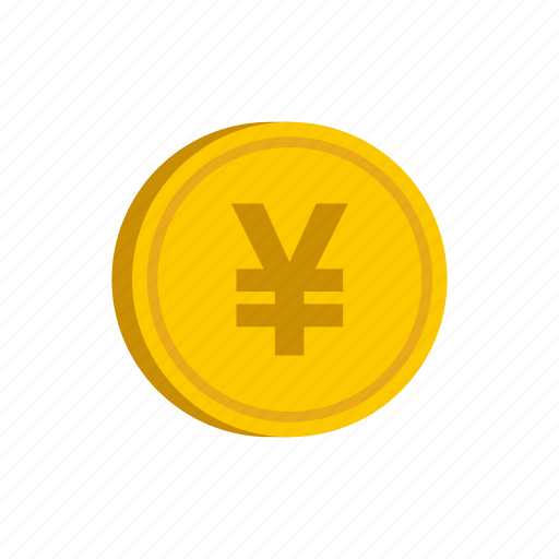 coin, currency, gold, japan, metal, money, yen icon