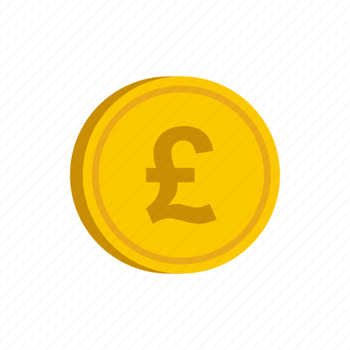 coin, currency, finance, gold, pound, uk, wealth icon