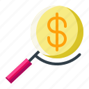 currency, dollar, find, money