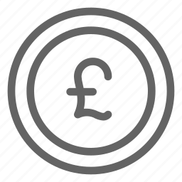 british, currency, pound sterling icon