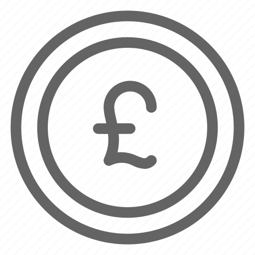 british, currency, england, pound sterling icon