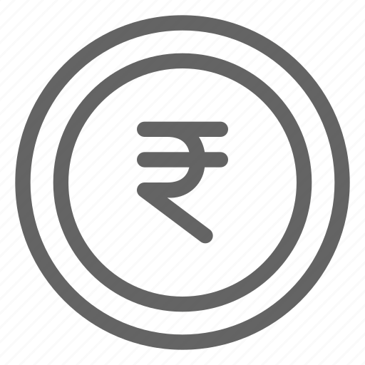 coin, currency, indian, rupee icon