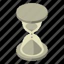 cartoon, countdown, cursor, hourglass, isometric, loading, logo