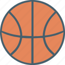 ball, basket, custom icon