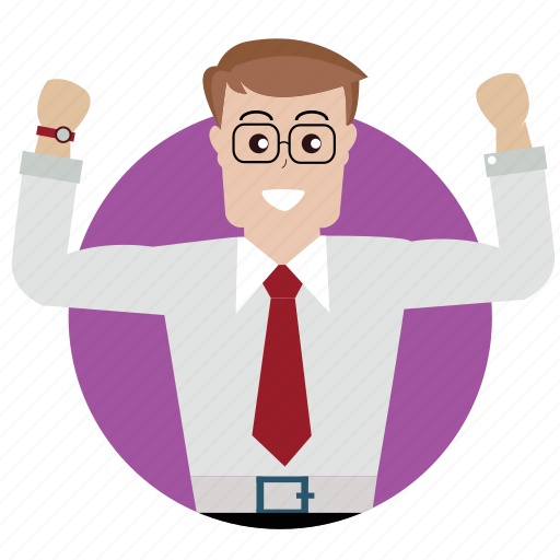 avatar, boss, client, man, person, success, user icon