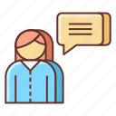 care, customer, feedback icon