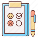 feedback, satisfaction, survey icon