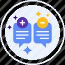 customer feedback, improvement, message, suggestion icon