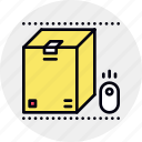 box, but, crate, online, package, product, purchase icon