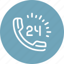 call, communication, customer, phone, service, support, telephone icon