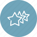 feedback, premium, quality, rating, review, stars, vote icon